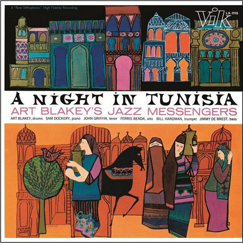 Art Blakey Jazz Messengers - A Night In Tunisia on Limited Edition 180g LP - direct audio