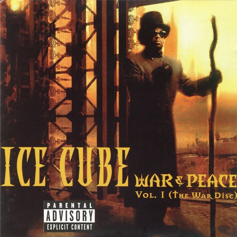 Ice Cube - War & Peace Vol. 1: The War Disc on 2LP - direct audio