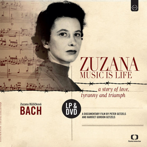 Zuzana Ruzickova Zuzana: Music Is Life - A Story of Love, Tyranny and Triumph Vinyl LP & DVD - direct audio