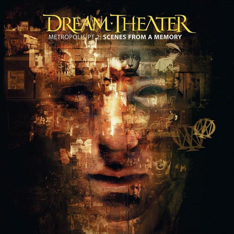 Dream Theater - Metropolis Part 2: Scenes From A Memory Numbered Limited Edition Colored 180g Import Vinyl 2LP - direct audio