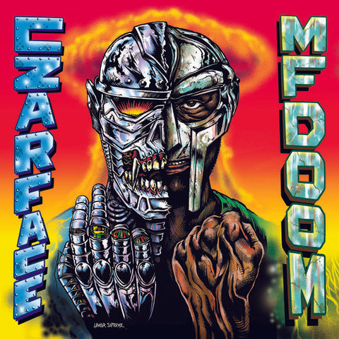 Czarface - Meets Metal Face Vinyl LP (Out Of Stock) Pre-Order - direct audio