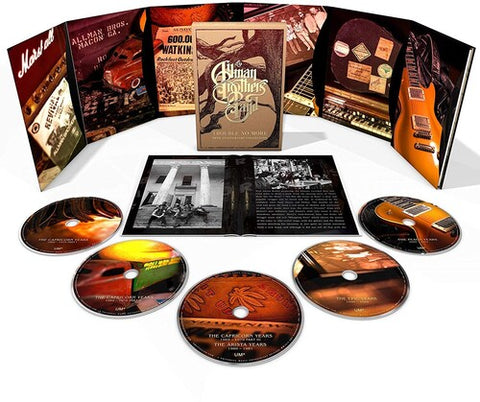 The Allman Brothers Band - Trouble No More: 50th Anniversary Collection 5CD Box Set - direct audio