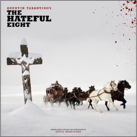Ennio Morricone - Quentin Tarantino's The Hateful Eight Original Motion Picture Soundtrack on Limited Edition 180g 2LP - direct audio