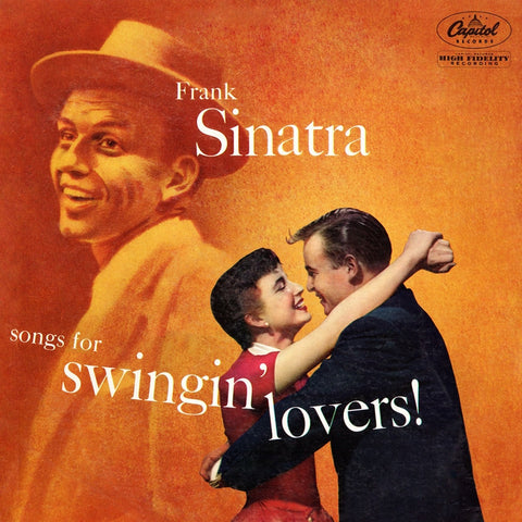 Frank Sinatra - Songs For Swingin' Lovers! on 180g LP - direct audio