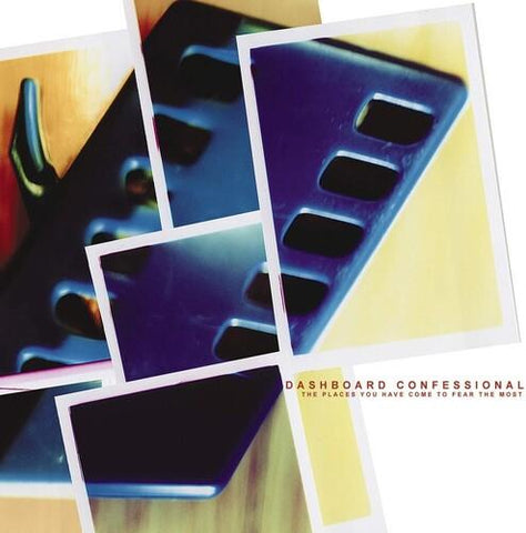 Dashboard Confessional - The Places You Have Come To Fear The Most Vinyl LP (Out Of Stock) - direct audio
