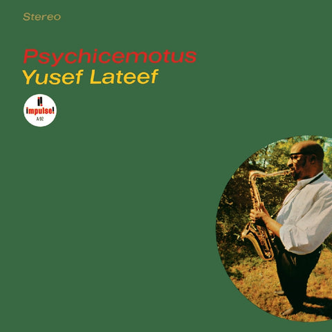 Yusef Lateef - Psychicemotus on LP - direct audio