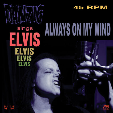 "Danzig - Always On My Mind 45RPM Vinyl 7"" - direct audio"