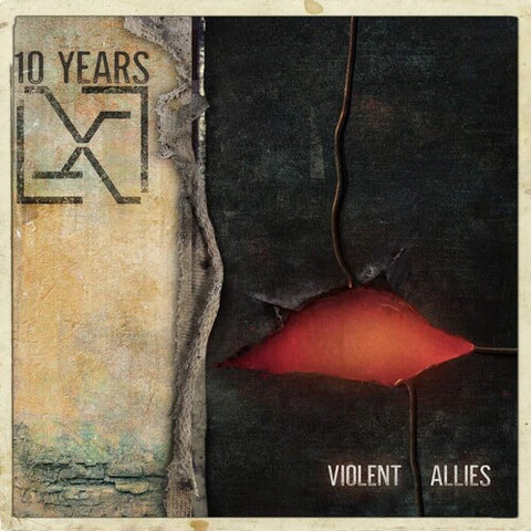 10 Years - Violent Allies Colored Vinyl LP - direct audio