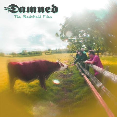 "The Damned - The Rockfield Files Colored  12"" Vinyl EP - direct audio"