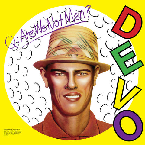 Devo - Q. Are We Not Men? A: We Are Devo! Vinyl LP - direct audio