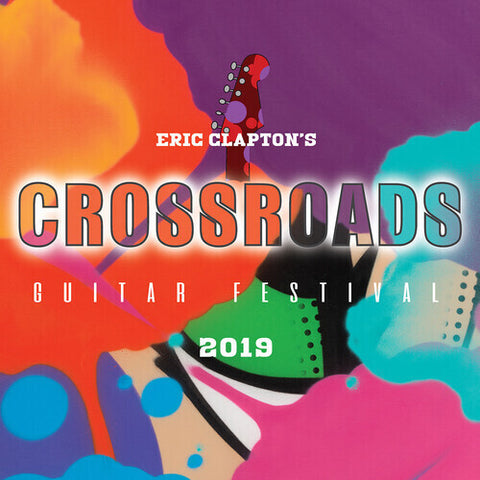 Eric Clapton - Eric Clapton's Crossroads Guitar Festival 2019 2DVD Video - direct audio