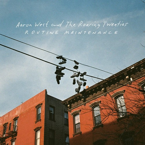 Aaron West and The Roaring Twenties - Routine Maintenance Colored Vinyl LP + Digital Download Card - direct audio