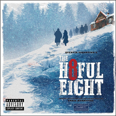 Ennio Morricone - Quentin Tarantino's The Hateful Eight Original Motion Picture Soundtrack on 180g 2LP - direct audio