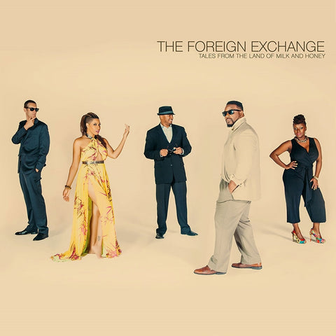 The Foreign Exchange - Tales From The Land Of Milk And Honey on Colored 2LP - direct audio