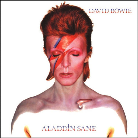 David Bowie - Aladdin Sane on 180g Vinyl LP - direct audio