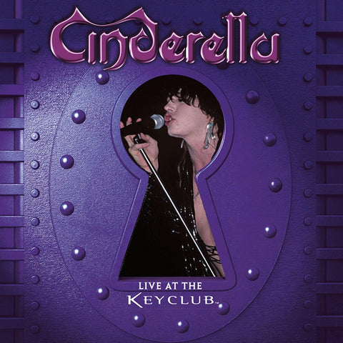 Cinderella - Live At The Key Club on Numbered Limited Edition Colored LP - direct audio