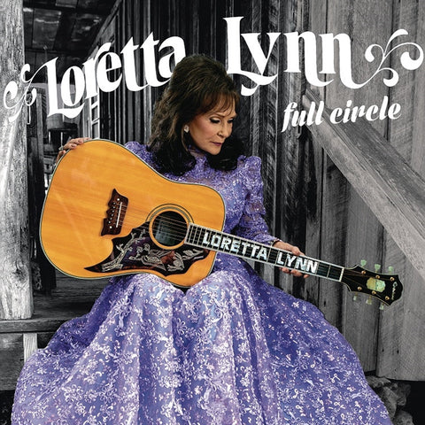 Loretta Lynn - Full Circle on LP - direct audio