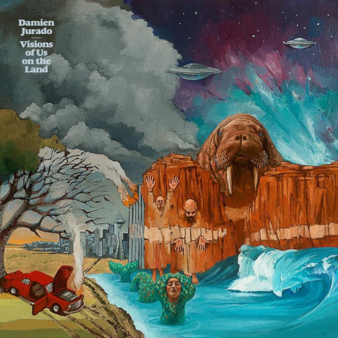 Damien Jurado - Visions Of Us On The Land Vinyl 2LP + Download - direct audio