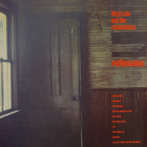 Lloyd Cole And The Commotions - Rattlesnakes on Limited Edition Import 180g LP + Bonus Tracks - direct audio