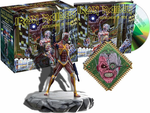 Iron Maiden - Somewhere In Time Deluxe Limited Edition on CD + Eddie Figure + Patch (Out Of Stock) Pre-order - direct audio