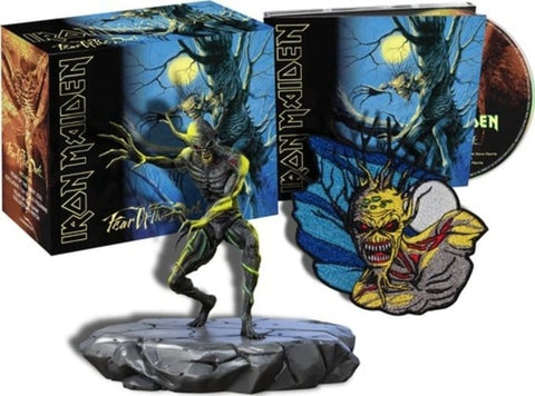 Iron Maiden - Fear Of The Dark Deluxe Limited Edition on CD + Eddie Figure + Patch - direct audio