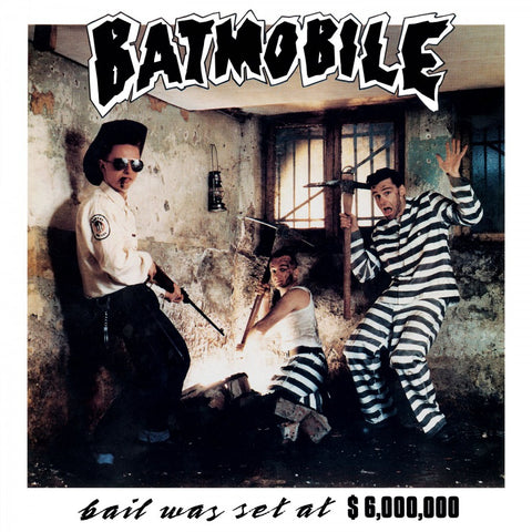 Batmobile - Bail Was Set at $6,000,000 Numbered Limited Edition Colored 180g Import Vinyl LP - direct audio