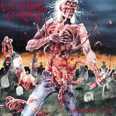 Cannibal Corpse - Eaten Back To Life on Limited Edition LP - direct audio