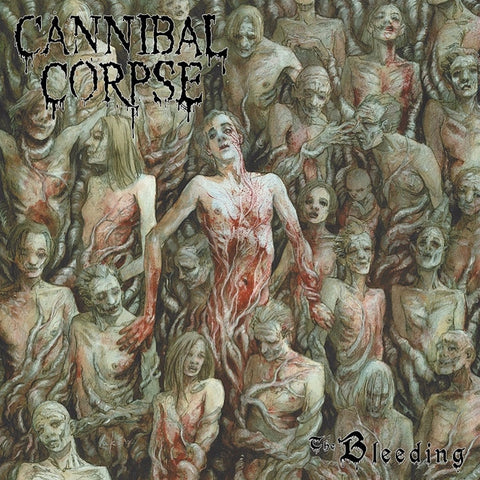 Cannibal Corpse - The Bleeding on Limited Edition LP - direct audio