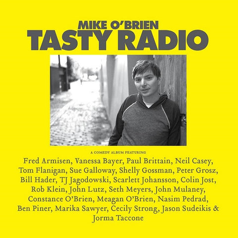 Mike O'Brien - Tasty Radio Vinyl LP + Download - direct audio