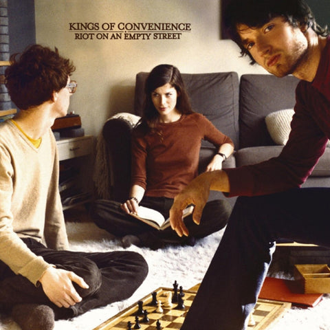 Kings Of Convenience - Riot On An Empty Street on Limited Edition Vinyl LP (Out Of Stock) - direct audio