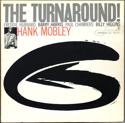 Hank Mobley - The Turnaround! on LP - direct audio