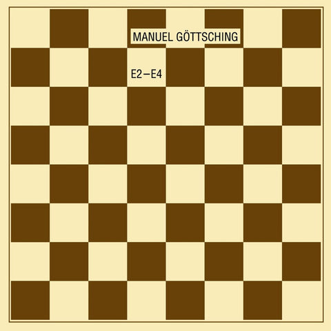 Manuel Gottsching - E2-E4 (35th Anniversary Edition) on Limited Edition 180g LP - direct audio