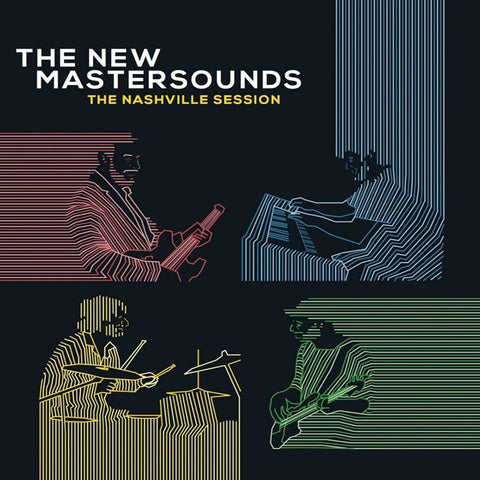The New Mastersounds - The Nashville Session on Limited Edition LP TBA - direct audio