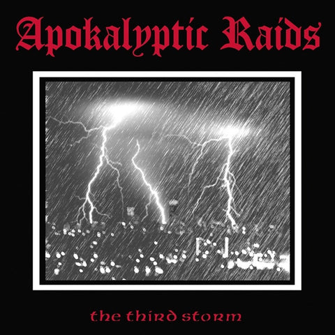 Apokalyptic Raids - The Third Storm Limited Edition Vinyl LP - direct audio