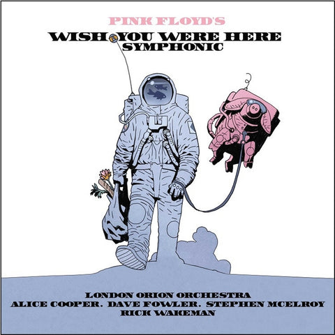 The London Orion Orchestra - Pink Floyd's Wish You Were Here Symphonic on 180g LP - direct audio