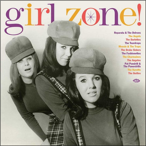 Girl Zone! - Various Artists Limited Edition Import Colored 180g Vinyl LP - direct audio