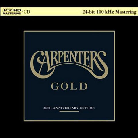 Carpenters - Gold Greatest Hits on K2 HD Mastering CD - direct audio
