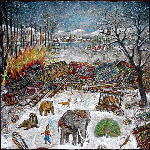 Mewithoutyou - Ten Stories Colored Vinyl LP + Download (Out Of Stock) Pre-order - direct audio
