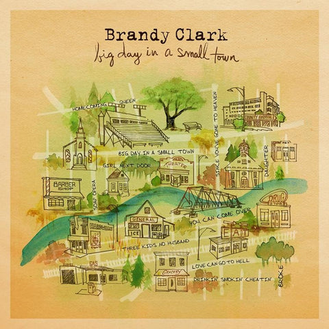 Brandy Clark - Big Day In A Small Town Vinyl LP - direct audio