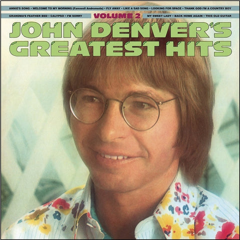 John Denver - Greatest Hits Volume 2 on Limited Edition 180g Vinyl LP - direct audio