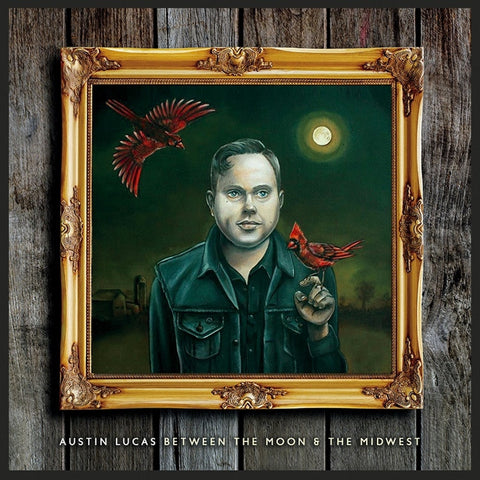 Austin Lucas - Between The Moon And The Midwest Vinyl LP - direct audio