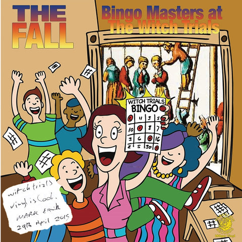 The Fall - Bingo Masters At The Witch Trials on Limited Edition Colored 180g LP - direct audio