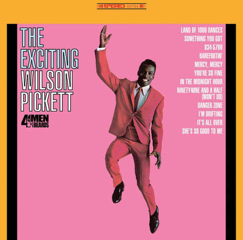 Wilson Pickett The Exciting Wilson Pickett Limited Edition Colored 180g Vinyl LP