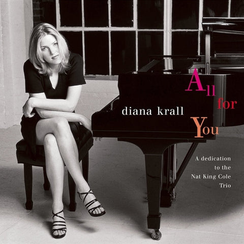 Diana Krall - All For You: A Dedication To The Nat King Cole Trio Vinyl 2LP - direct audio