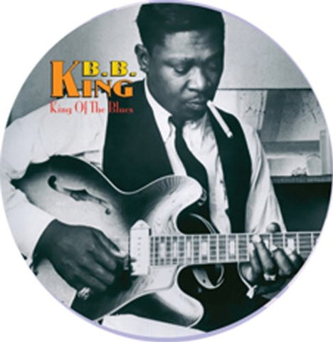 B.B. King - King Of The Blues on Picture Disc LP - direct audio