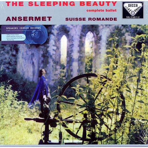 Tchaikovsky The Sleeping Beauty (Complete Ballet) - Ansermet - L'Orchestre De La Suisse Romande on 180g Import 3LP Box Set - direct audio