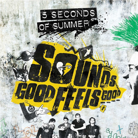 5 Seconds Of Summer - Sounds Good Feels Good on LP - direct audio