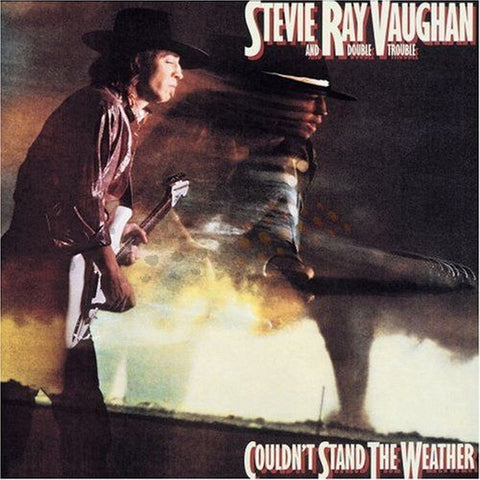 Stevie Ray Vaughan and Double Trouble - Couldn't Stand The Weather on LP - direct audio