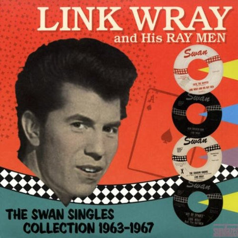 Link Wray - Swan Singles Collection 1963-1967 Vinyl 2LP - direct audio