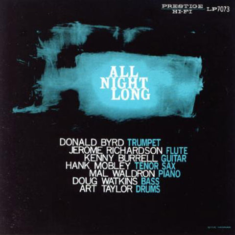 The Prestige All-Stars - All Night Long on 200g Mono LP - direct audio